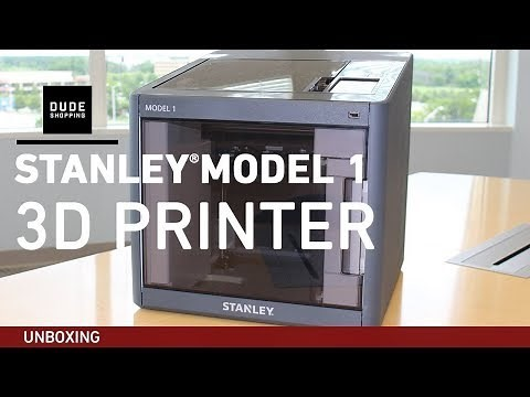 stanleymodel13dprintervideoreview